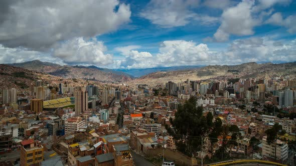 Thumbnail for View On La Paz From Mirador Killi Killi