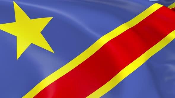 Thumbnail for Democratic Republic of Congo Flag