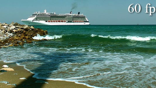 Thumbnail for Cruise Ship Approaching Harbor 1
