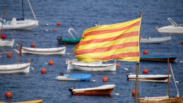 Thumbnail for Catalonia Flag 01