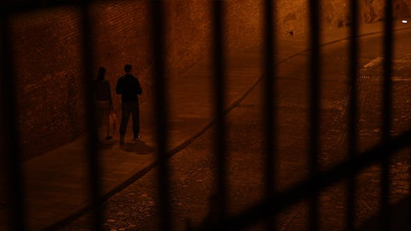 Thumbnail for Behind Bars Night View