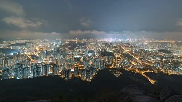 Thumbnail for Hong Kong, China | Wide angle view of the city
