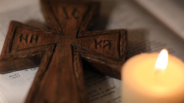 Thumbnail for Holy Cross With Candle