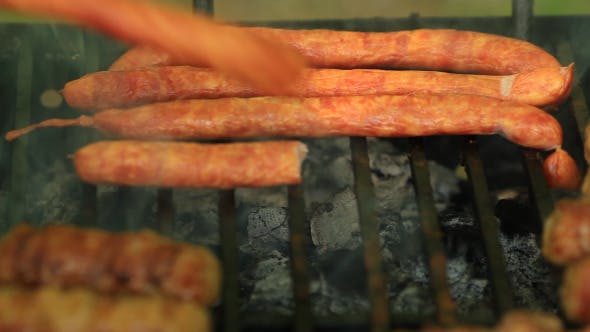 Thumbnail for Hot Dog On Grill