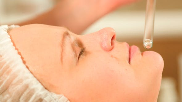 Thumbnail for Facial Procedure At Beauty Spa With Laser Using