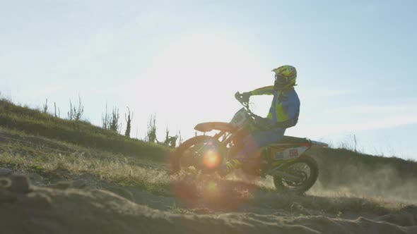 Thumbnail for Rider on a motocross