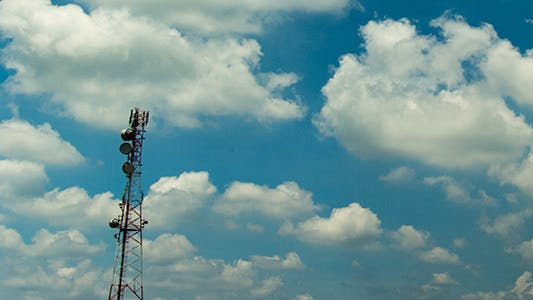 Thumbnail for Cloud and Communication Tower