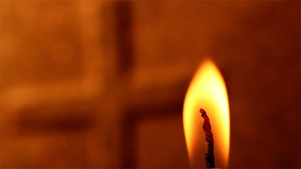 Candle Light With Flame 4