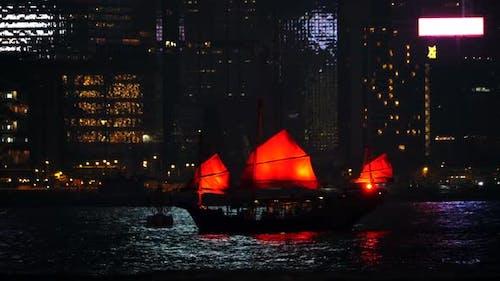 China Asia Harbour Night