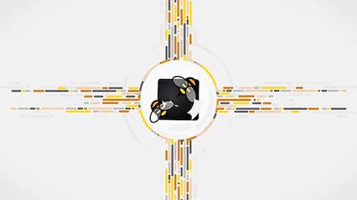 Simple Line Logo Reveal