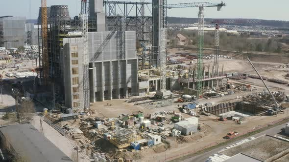 Thumbnail for Large Scale Construction of Power Plant which Burns City Waste as a Fuel