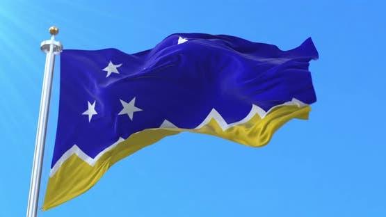 Magallanes Region Flag, Chile