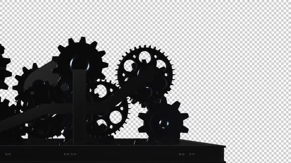 Maschinengetriebe - Spinnschleife - III