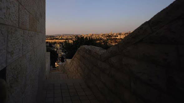Thumbnail for Sunrise time-lapse from the BYU Jerusalem center