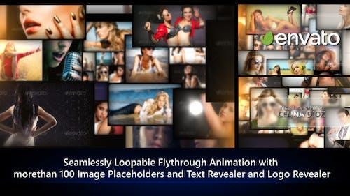 Photos Galaxy - Loopable Flythrough Animation