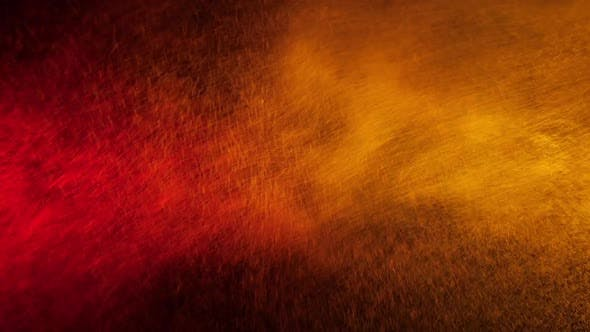 Thumbnail for Red and Yellow Water Spray Mixed on a Black Background. Slow Motion
