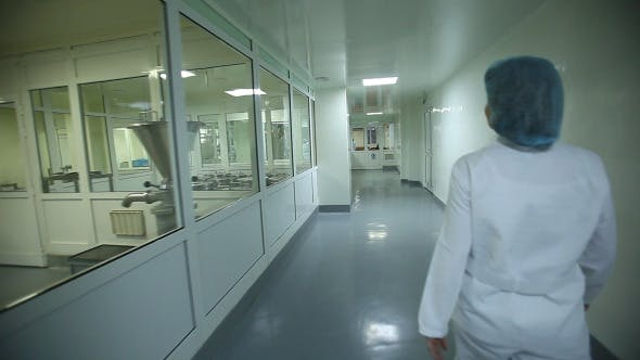 Thumbnail for Pharmaceutical Industry With Staff And Laboratory