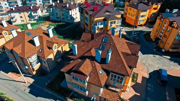Thumbnail for Modern Town Houses on Urban Street