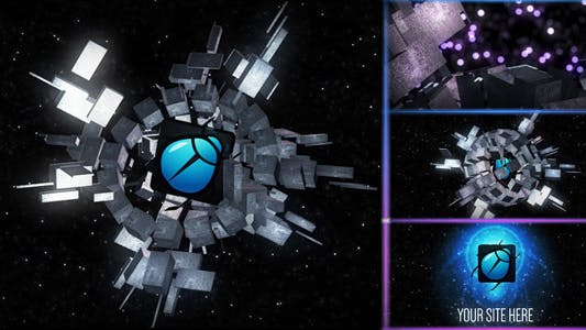 Thumbnail for Cubic Planet Logo Reveal