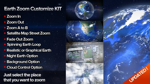 Thumbnail for Earth Zoom Customize Kit 4