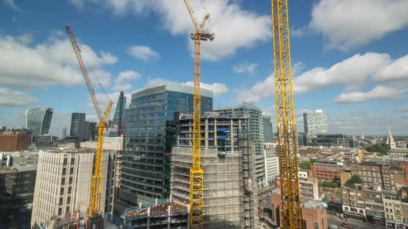 Thumbnail for London city  skyline construction boom skyscrapers architecture