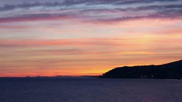 Thumbnail for Sunset City and Sea Horizon