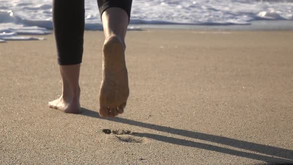 Thumbnail for Walking on the Beach
