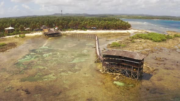Cover Image for Viewing Deck for the Surfing Competition. Siargao Island, Philippines