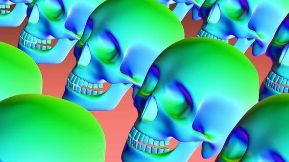 4K Rainbow skeletons