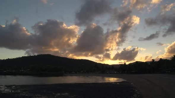 Thumbnail for Time lapse sunrise at Airlie Beach