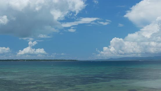Thumbnail for Clear blue sky and sea in ishigaki island