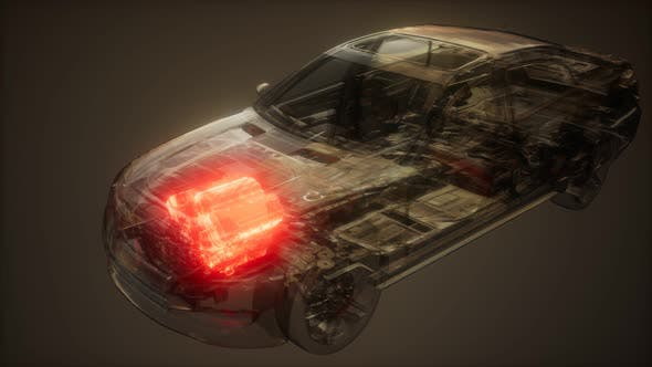 Cover Image for Car Engine Visible in Car