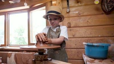 Ceramic Artist Kid Creative Children Development