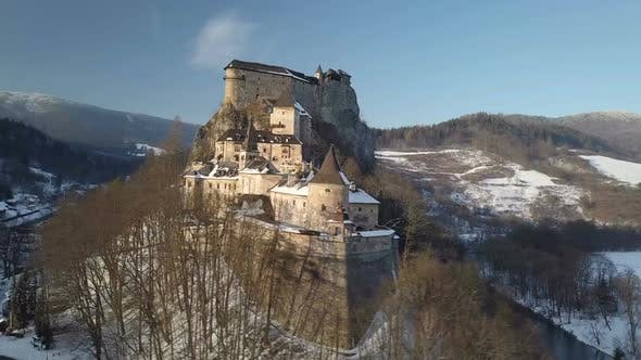 Thumbnail for Aerial Dracula Castle