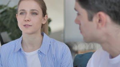 Girl Talking with Boyfriend