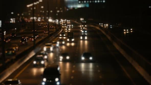 Thumbnail for Car On Road At Night