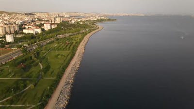 People Coastal Walking at Park