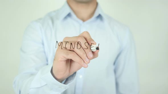 Thumbnail for Mindset, Writing On Screen