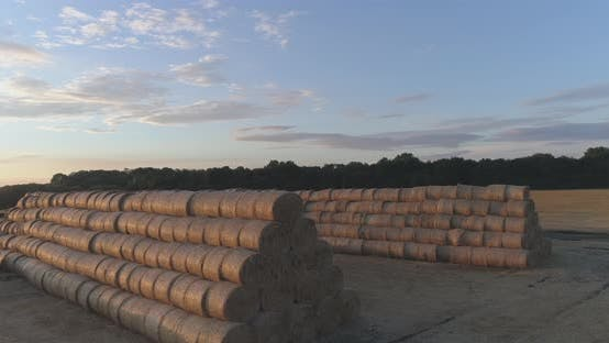 Thumbnail for Stack of Hay Bales