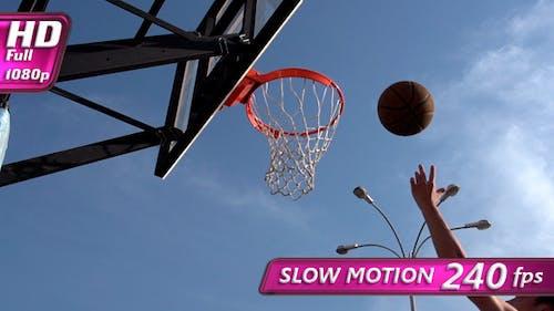 Ball Basketball Hoop