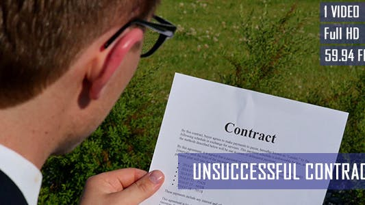 Thumbnail for Unsuccessful Contract