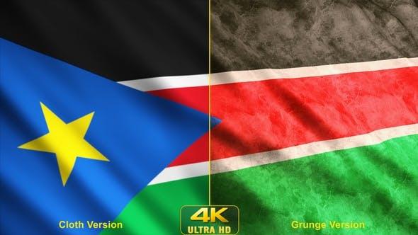 South Sudan Flags