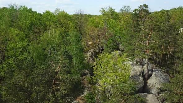 Thumbnail for Aerosyomka Rocks Dovbush Western Ukraine