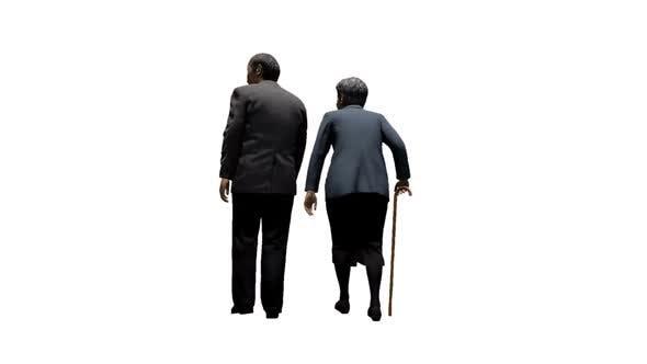 Thumbnail for Elderly Couple Walking