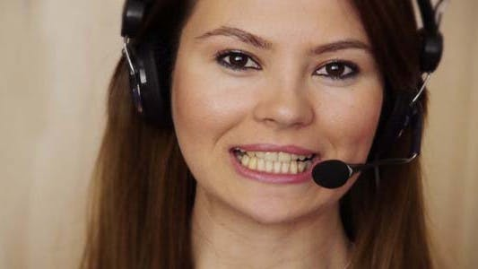 Thumbnail for Young Female Call Centre Agent
