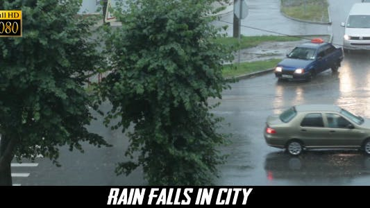 Thumbnail for Rain Falls In City 4