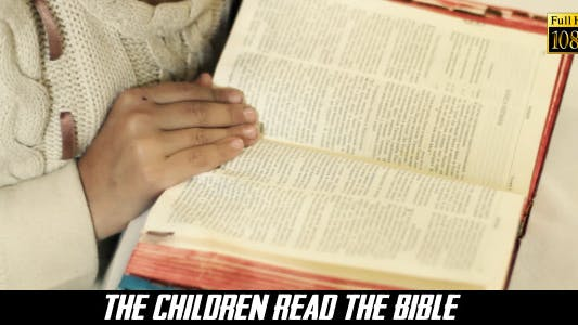 Thumbnail for The Children Read The Bible 4