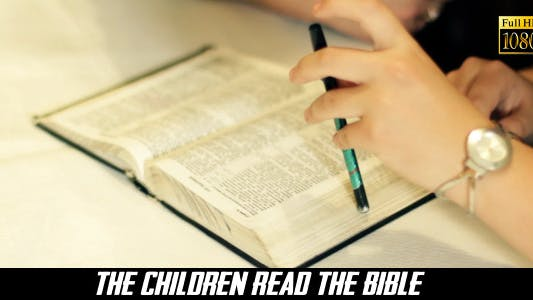 Thumbnail for The Children Read The Bible 3