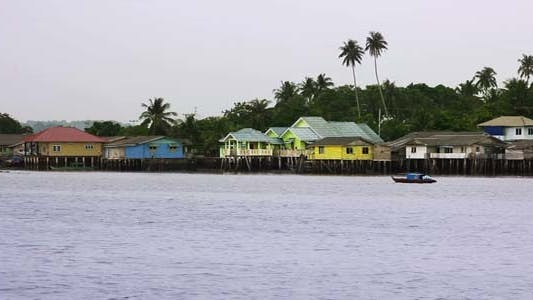 Thumbnail for Wooden Houses In Penyengat Island 3