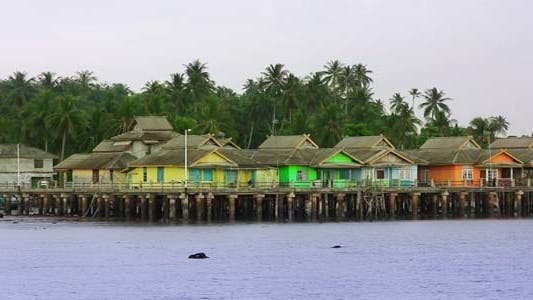 Thumbnail for Wooden Houses In Penyengat Island 2